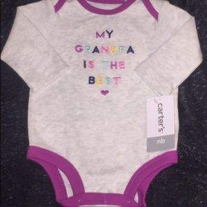 Carter's Baby Girl Long Sleeve Shirt